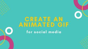 Digital Design Trends: Create an Animated GIF for Social Media course image