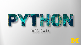 Using Python to Access Web Data course image