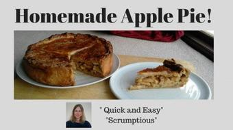 Homemade Apple Pie! (Deep-Dish And Delicious!) course image