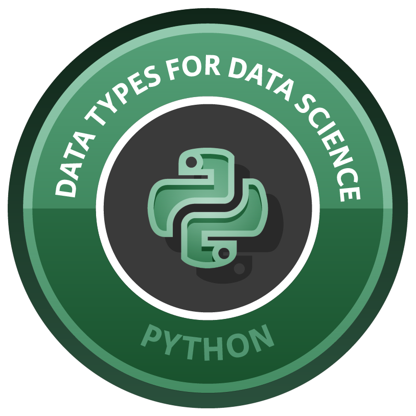Data Types for Data Science course image