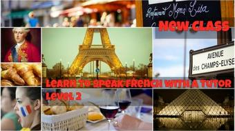 Learn to Speak French with a Tutor Level 2 course image