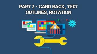 Develop Trading Card Game Battle System With Unity 3D: Part II (Card Back, Text Outlines, Rotation) course image