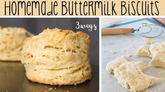 Homemade Buttermilk Biscuits - 3 Ways course image