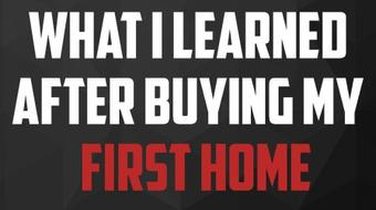 Buying Your First Home: What I Learned After I Purchased My First Home course image