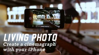 Living Photo: Create a Cinemagraph with your iPhone course image