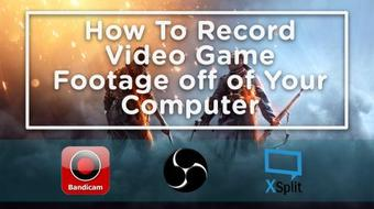How To Record Videos Games On Your Computer course image