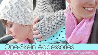 One-Skein Accessories: Chevron Collection course image