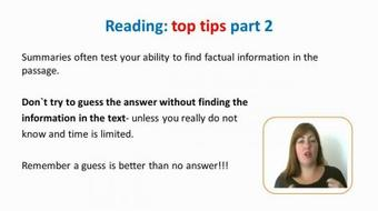 The IELTS: Writing, Reading, Speaking, Listening Top Tips course image