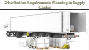 Distribution Requirements Planning in Supply Chains course image