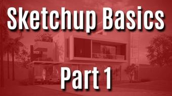 Sketchup Basics (Part 1) - An Introduction to Sketchup Templates, User Interface and Axes course image