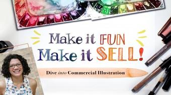 Make it Fun, Make it Sell: Dive Into Commercial Illustration course image