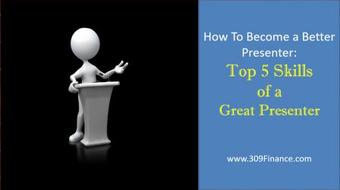 How To Become A Better Presenter: Top 5 Skills of a Great Presenter course image