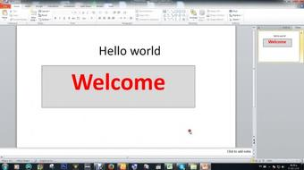 Microsoft Office PowerPoint 2010 for Beginners_Class 1 course image