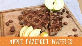 Weekend Family Breakfast: Apple Hazelnut Waffles (Can Be Pancakes Too) course image