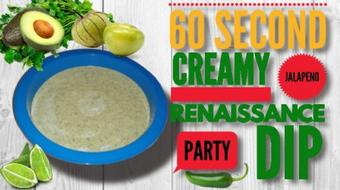 60 Second Creamy Jalapeno ★ Renaissance Party Dip course image