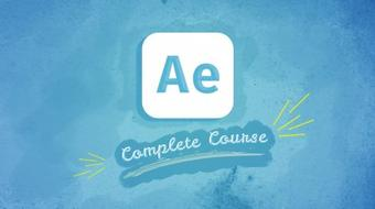 Learn Motion Graphic with After Effect in 5 Hours course image
