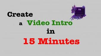 Create a Video Intro in 15 Minutes course image