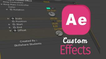 Build Your Own Custom Effect in After Effect course image
