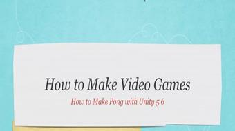 How to Make Video Games course image