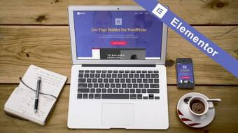 Create a stunning landing page in WordPress with the Elementor Page Builder.