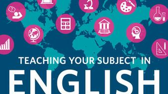 Teaching Your Subject in English course image