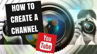 How to Create A Youtube Channel From Scratch in The Next 10 Minutes course image