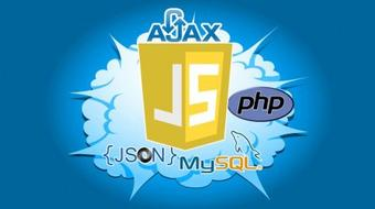 JavaScript AJAX PHP mySQL create a Dynamic web Form project course image