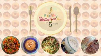 A Healthy Delicious Menu In 5 Steps course image