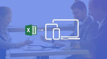 DIY Dashboards for Excel & Business Apps for iPhones & iPads course image