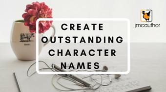 Create Outstanding Character Names course image