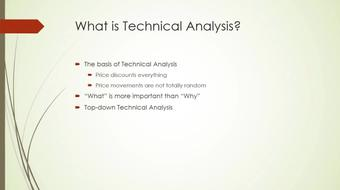More about Technical Analysis course image