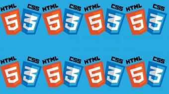 What is HTML? and a bit about CSS . A real beginner's starting point. course image