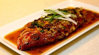 Spicy Bean Savoury Fried Fish course image