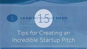 15 tips for Creating a Very Good Startup Pitch course image
