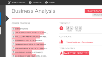 Online Business Analysis Course course image