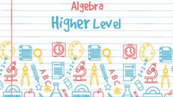 Strand 4 Higher Level Algebra course image