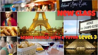 Learn to Speak French with a Tutor Level 3 course image