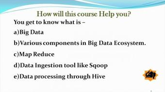 Big Data Analytics Using Sqoop and Hive course image