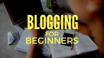 How to Start a Blog - Blogging for Beginners course image