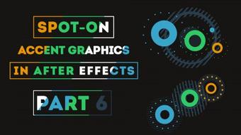 Spot-on Accent Graphics in After Effects (Part 6) course image