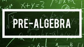 Pre-Algebra Mathematics course image
