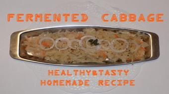 Fermented Cabbage: Healthy&Tasty Homemade Recipe course image