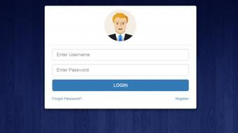Responsive Login Form Using BootStrap from Scratch course image
