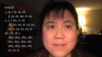 Mandarin Chinese: Introduction to Chinese sound system--pinyin part 2 course image