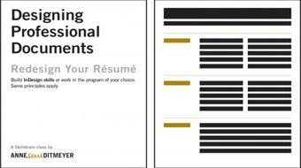 Redesign Your Resume: Designing Professional Documents course image