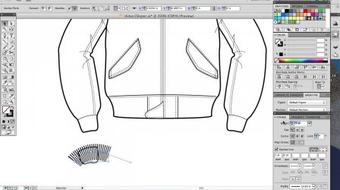Flat Chance II: Drawing Adobe Illustrator Fashion Flats (Intermediate) course image