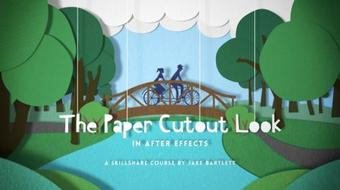 The Paper Cutout Look in After Effects course image
