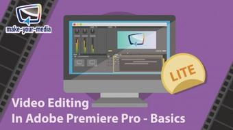 Video Editing using Adobe Premiere Pro: For beginners course image