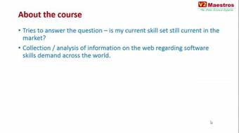 Hot Software Skills 2015-16 - Global Trends Analysis course image