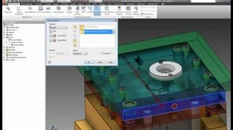 Plastic Gear & Mold Design using Autodesk Inventor course image